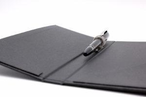 Rechnungsmappe Stift